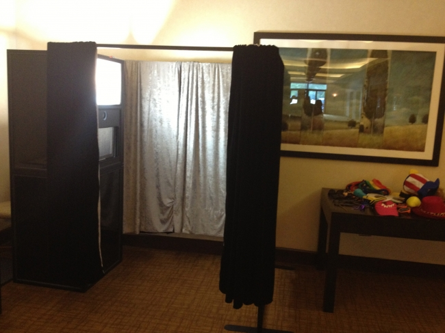 Chicago Memory Booth at a wedding photo booth rental